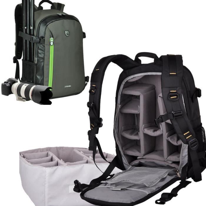 vet sac a dos appareil photo reflex imperm able pour canon. Black Bedroom Furniture Sets. Home Design Ideas