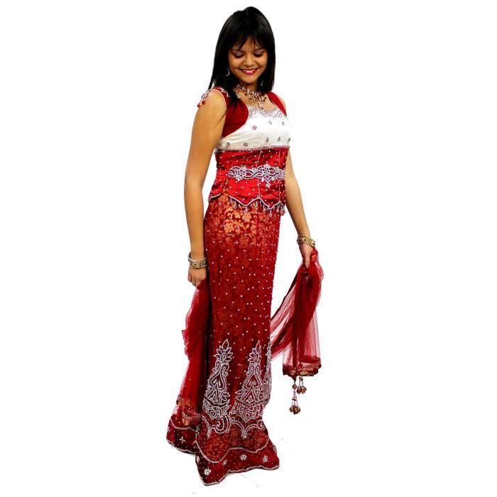 Robe de mari e indienne rouge id es et d 39 inspiration sur for Robes de mariage indien en ligne