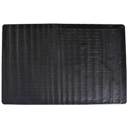 tapis de coffre caoutchouc 117x82cm universel achat vente tapis de sol tapis de coffre. Black Bedroom Furniture Sets. Home Design Ideas