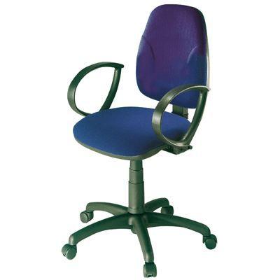 Chaise dactylo neptune bleu achat vente chaise de - Chaise de bureau bleu ...