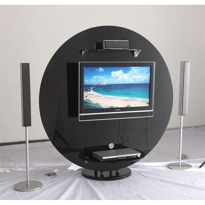 meuble tv noir atmosphere achat vente meuble tv meuble tv noir atmosphere cdiscount. Black Bedroom Furniture Sets. Home Design Ideas