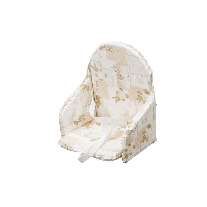 Coussin pour chaise haute b b trouvez le meilleur prix sur voir avant d 39 acheter - Patron coussin chaise haute ...