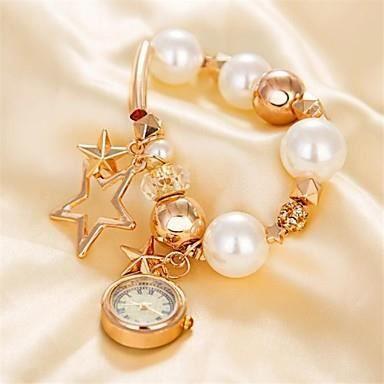 montre pour femme pentacle l gante perle bracelet achat vente montre cdiscount. Black Bedroom Furniture Sets. Home Design Ideas