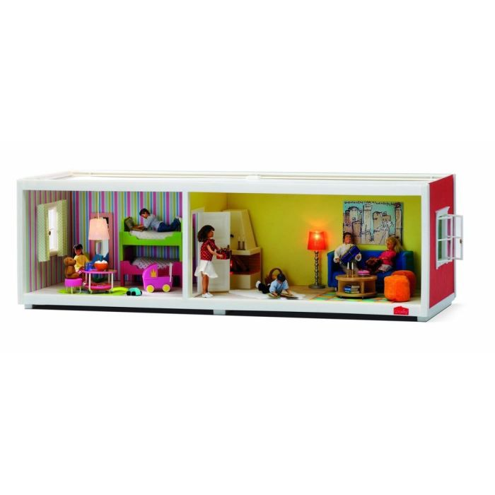 lundby maison de poup e etage compl mentaire achat vente maison poup e cdiscount. Black Bedroom Furniture Sets. Home Design Ideas