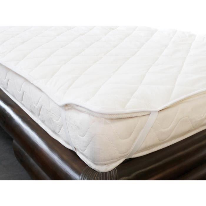 sur matelas 160x200 cm douceur achat vente sur matelas. Black Bedroom Furniture Sets. Home Design Ideas