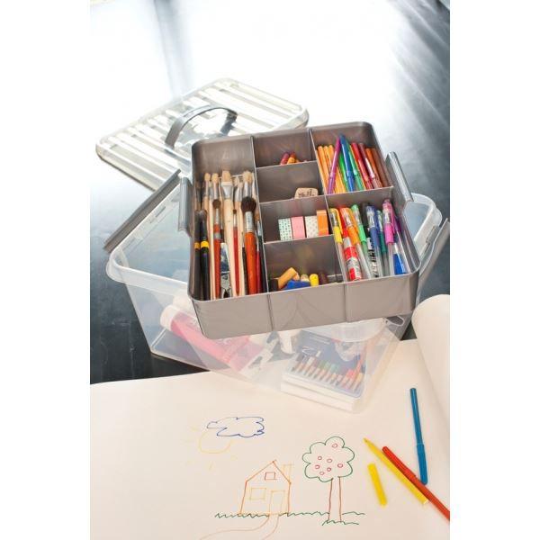 Grande boite de rangement multifonctions avec achat - Grande boite de rangement plastique ...