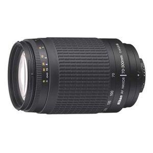 OBJECTIF Nikon AF 70-300 mm f/4-5.6 Noir