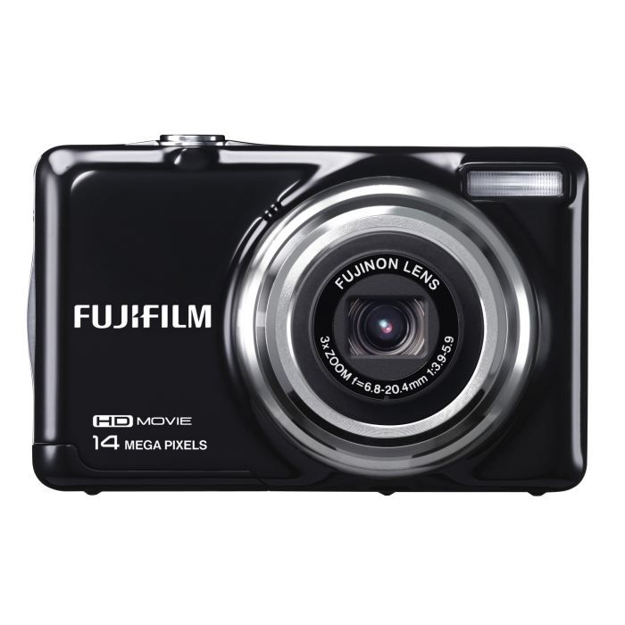 fujifilm jv500 noir compact 14 mp zoom 3x achat. Black Bedroom Furniture Sets. Home Design Ideas