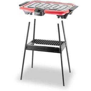 BARBECUE DE TABLE Barbecue HARPER BQS1000 Red