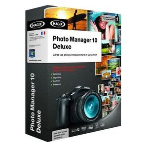 LOGICIEL LOISIRS MAGIX PHOTO MANAGER 10 DELUXE