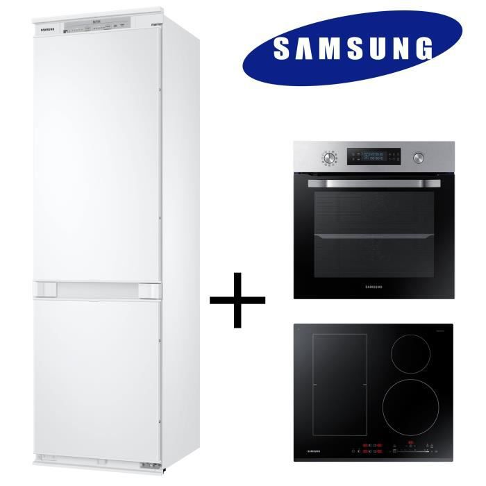 pack cuisson froid samsung brb260000ww r frig rateur electrom nager. Black Bedroom Furniture Sets. Home Design Ideas