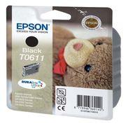 CARTOUCHE IMPRIMANTE Epson T0611 Ourson Cartouche d'encre Noir