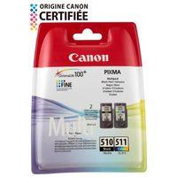 CARTOUCHE IMPRIMANTE Canon cartouches PG-510 B/C/M/Y Pack couleurs x1