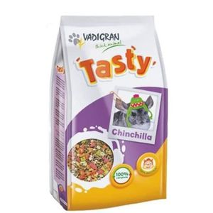 VADIGRAN Lot de 3 Tasty Nourriture pour chinchillas 900g