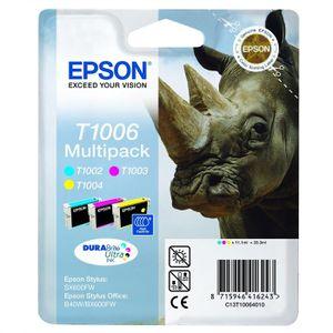 Epson T1006 Rhinocéros Cartouches d'encre Multipack Couleurs