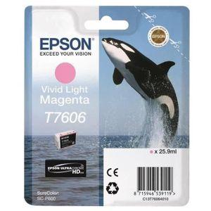 Epson Cartouche Orque T7606 Vivid Magenta clair