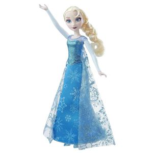 DISNEY Poupée chanteuse et lumineuse Elsa la Reine des Neiges