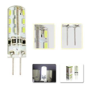ampoule led 12v g4 blanc froid achat vente ampoule led 12v g4 blanc froid pas cher cdiscount. Black Bedroom Furniture Sets. Home Design Ideas