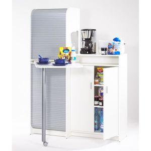 grand meuble de rangement achat vente grand meuble de rangement pas cher cdiscount. Black Bedroom Furniture Sets. Home Design Ideas