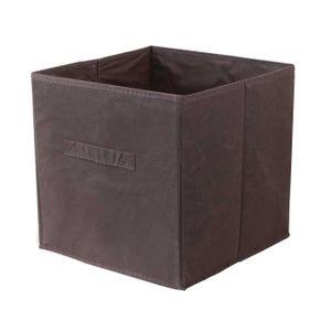 Meuble marron cube achat vente meuble marron cube pas cher soldes cdi - Panier pour meuble cube ...