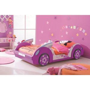 Lit Enfant Pink Flower 90x190/200