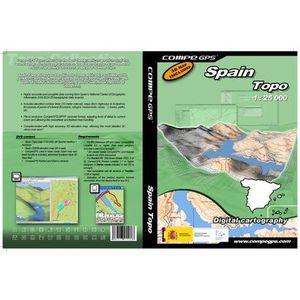 GPS AUTO TWONAV Carte Topo Espagne complète