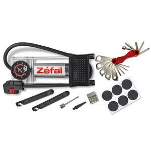 POMPE À VÉLO ZEFAL Kit pompe à Pédale + Accessoires Repair Stat