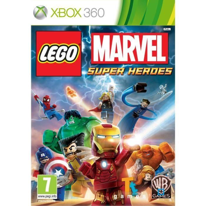 JEUX XBOX 360 LEGO MARVEL SUPER HEROES / Jeu console XBOX 360