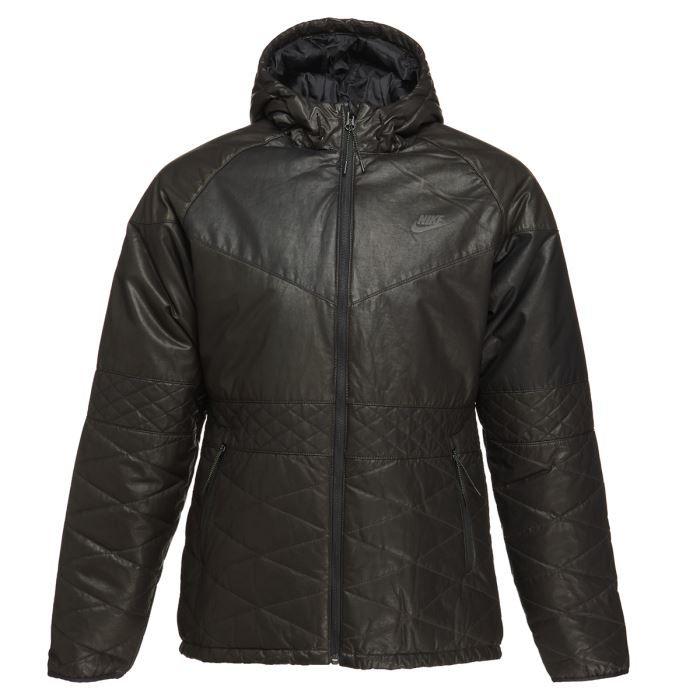 nike blouson homme noir achat vente blouson manteau nike blouson homme cdiscount. Black Bedroom Furniture Sets. Home Design Ideas