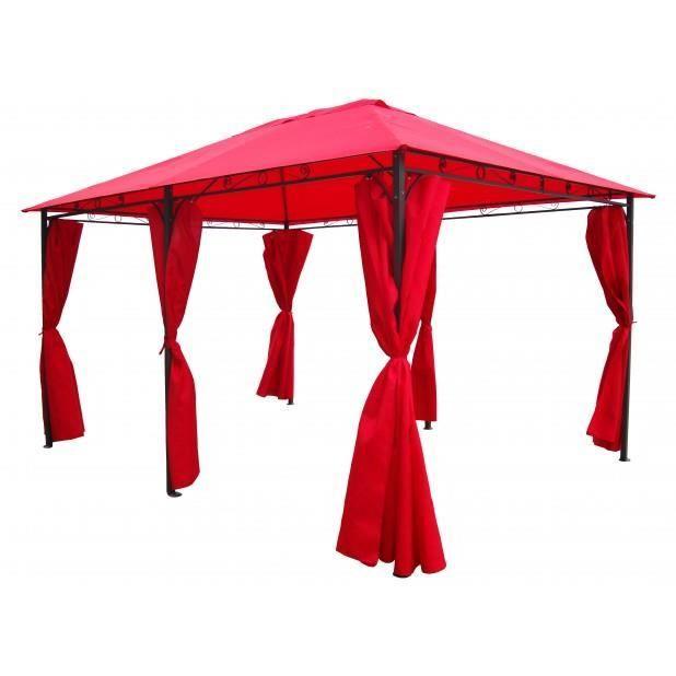 magnifique tente de jardin pergola thunder 3 x 4 m tres. Black Bedroom Furniture Sets. Home Design Ideas