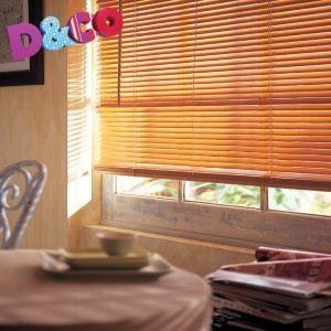 store v nitien bois ch ne clair achat vente store de. Black Bedroom Furniture Sets. Home Design Ideas