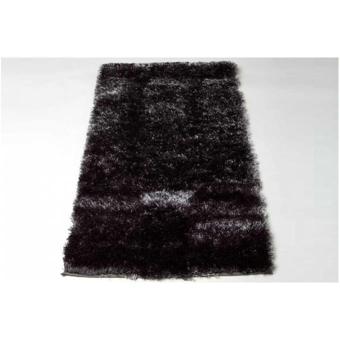tapis poils shaggy tendance gris 160x230 cm achat vente tapis cdiscount. Black Bedroom Furniture Sets. Home Design Ideas