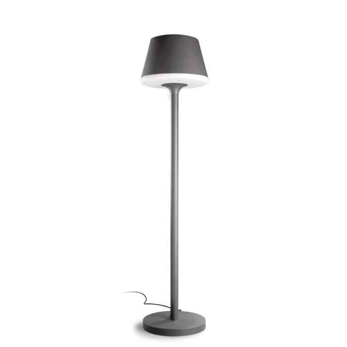 lampadaire moonlight gris urbain achat vente. Black Bedroom Furniture Sets. Home Design Ideas