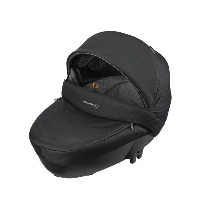 bebe confort nacelle groupe 0 windoo plus black raven achat vente nacelle bb confort nacelle. Black Bedroom Furniture Sets. Home Design Ideas