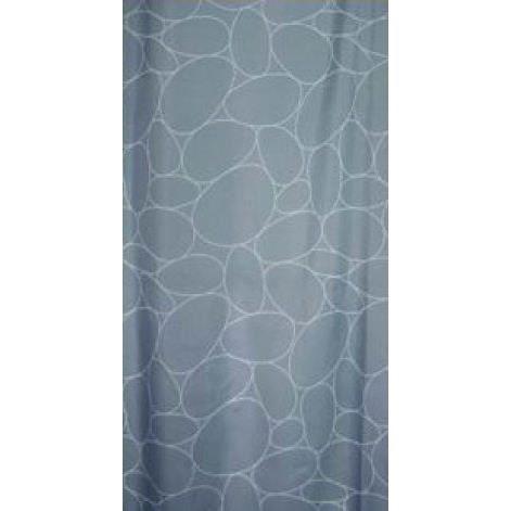 frandis rideau de douche galets gris achat vente rideau de douche frandis rideau de douche. Black Bedroom Furniture Sets. Home Design Ideas