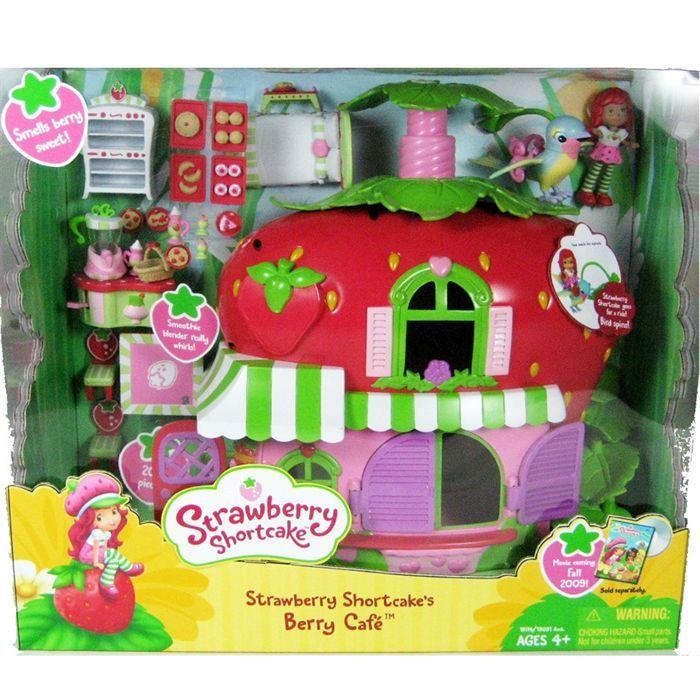 Maison charlotte aux fraises jouet