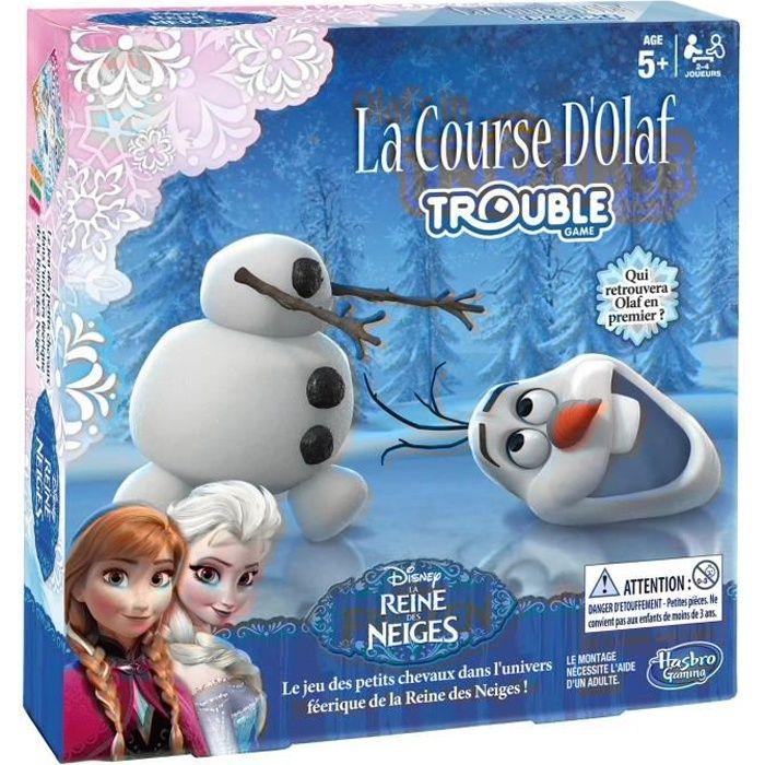 La reine des neiges la course d 39 olaf achat vente jeu soci t plateau cdiscount - Jeux gratuit la reine des neige ...