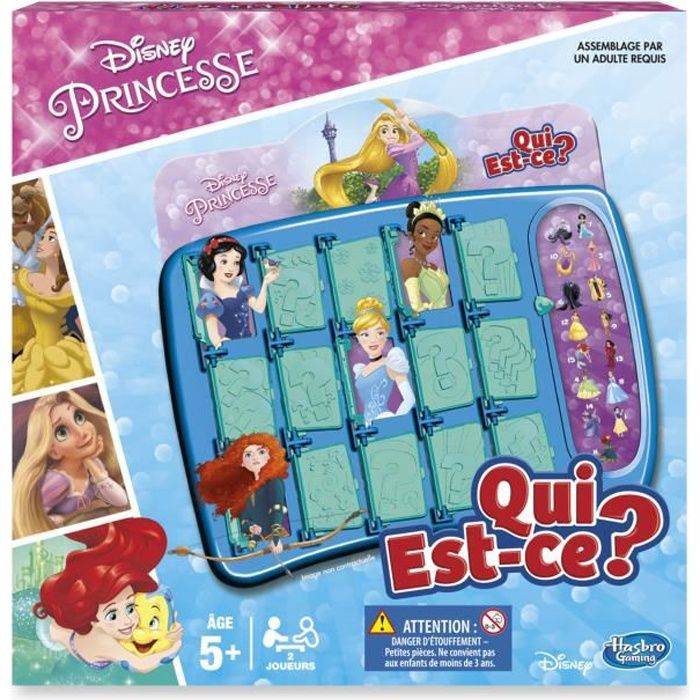 disney princesses qui est ce achat vente jeu soci t plateau cdiscount. Black Bedroom Furniture Sets. Home Design Ideas