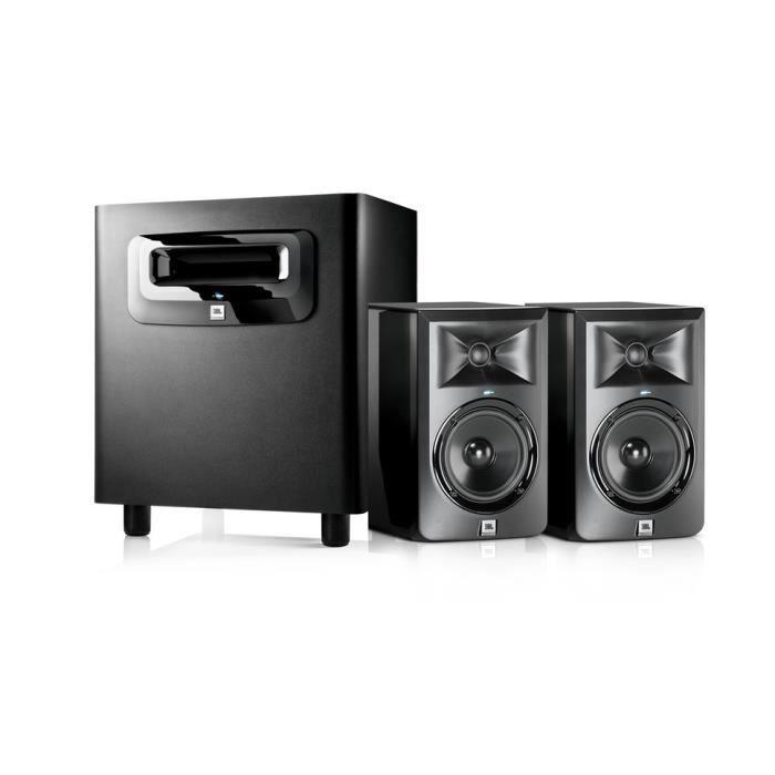 pack lsr305 2 1 ensemble 2 x lsr305 subwoofer lsr310s pack sono avis et prix pas cher. Black Bedroom Furniture Sets. Home Design Ideas