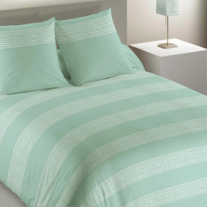 parure de lit jade nacre jade les ateliers du linge 240 x 220 achat vente parure de drap. Black Bedroom Furniture Sets. Home Design Ideas