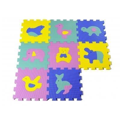 Tapis Puzzle Pour Enfant En Mousse Animaux 120 6 Achat Vente Tapis Veil Aire B B Tapis