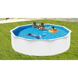 Piscine acier r sine achat vente piscine acier for Piscine metal rectangulaire