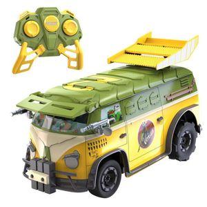 Tortue ninja avec vehicule achat vente jeux et jouets - Vehicule tortue ninja ...