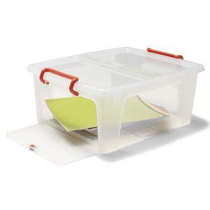 Boite de rangement plastique 50 litres achat vente - Boite en plastique de rangement pas cher ...