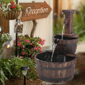 fontaine en bois achat vente fontaine en bois pas cher. Black Bedroom Furniture Sets. Home Design Ideas