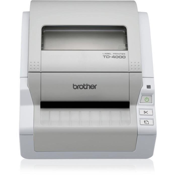 brother td 4000 imprimante d 39 tiquettes monoc prix pas cher cdiscount. Black Bedroom Furniture Sets. Home Design Ideas