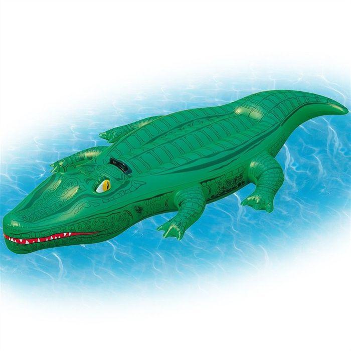 Crocodile gonflable 117 cm achat vente jeux de piscine for Rustine piscine gonflable