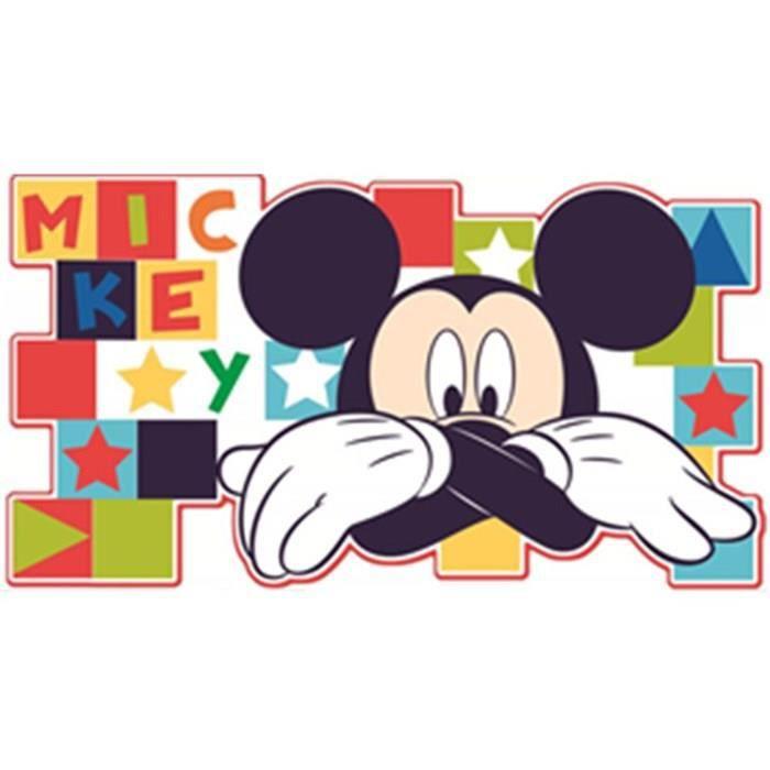 D coration murale crearreda mickey mouse de 23501 achat vente stickers caoutchouc cdiscount - Decoration mickey chambre ...