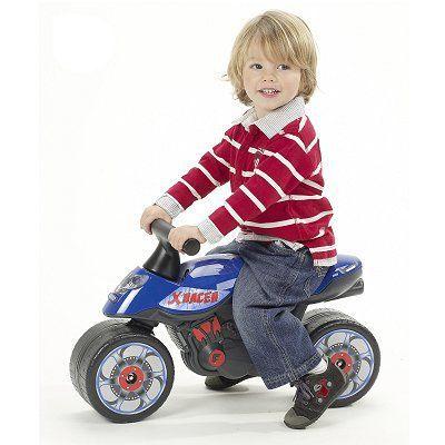 porteur moto xracer bleu achat vente porteur. Black Bedroom Furniture Sets. Home Design Ideas