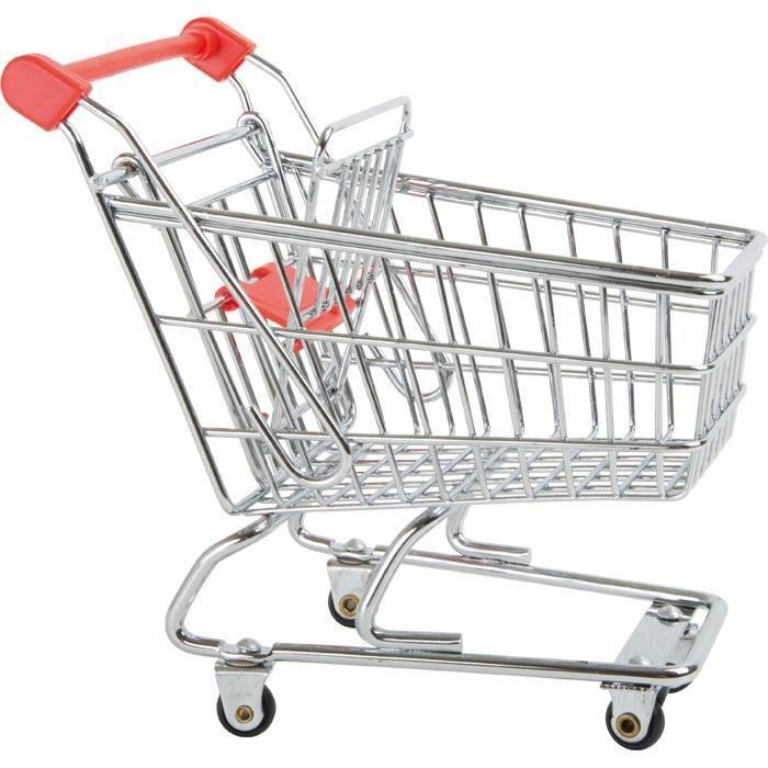 Caddie chariot de courses pour poup es achat vente accessoire poup e cdiscount - Caddie de course pas cher ...